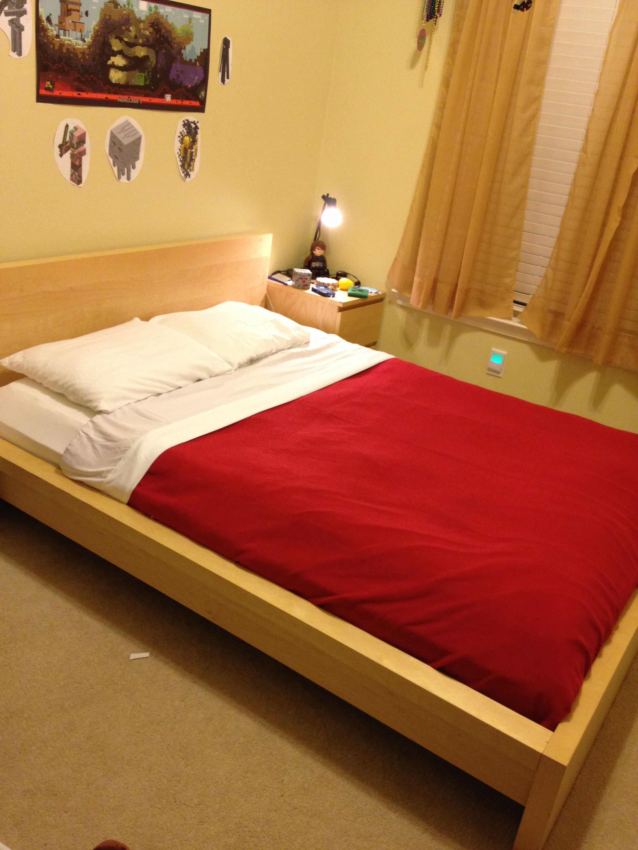 Real Life Minecraft Bed Google Search Minecraft Room Minecraft Bedroom Bed