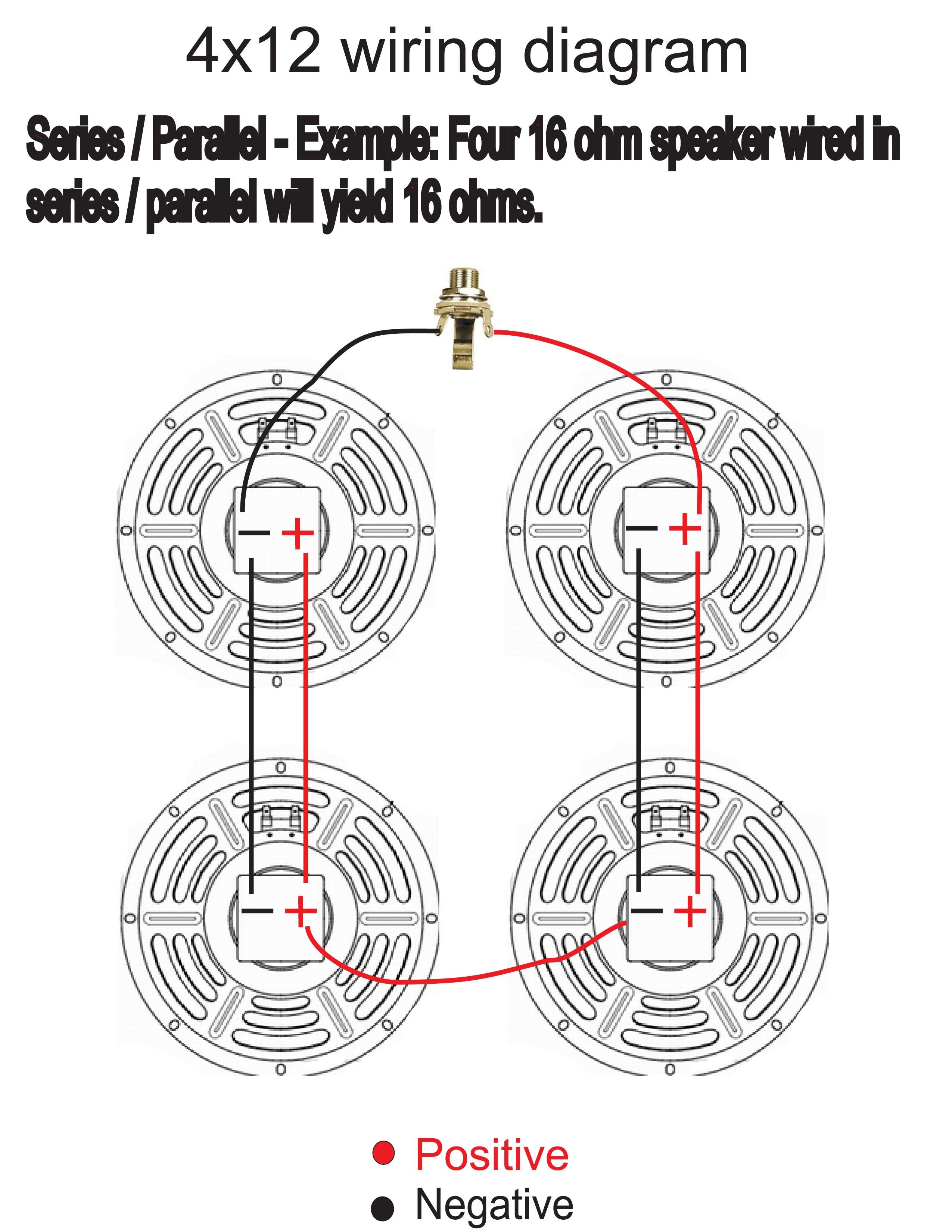 4x12 Speaker Cabinet Wiring Inspirational | Speaker, Wire, Speaker cabinetPinterest