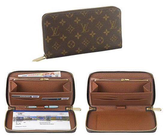 0ef0f82bb68 Louis Vuitton - Zippy Organizer ($875) - avail in monogram, damier ...