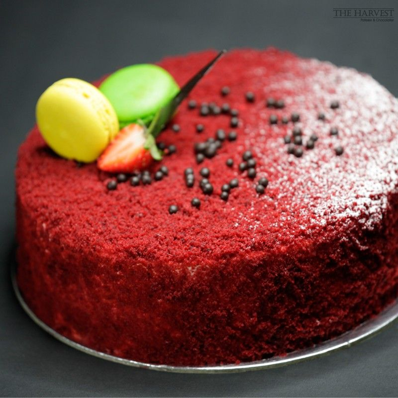 Red Velvet Cake By The Harvest Patissier Chocolatier