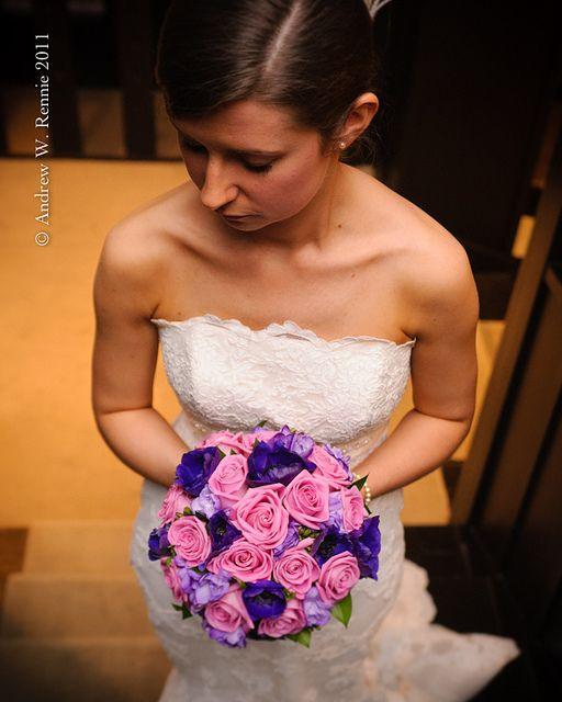 pink purple bouquet
