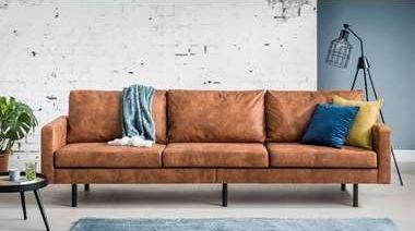 Photo of Cognac bank: ideaal voor een industriële woonkamer – 100% Woongeluk