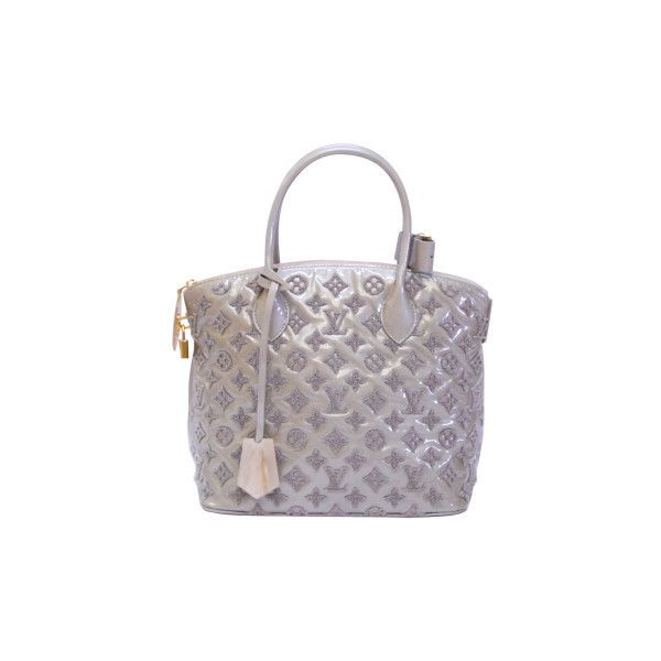 Louis Vuitton Pre-Owned Louis Vuitton Women's Shoulder Bags ($2,850) ❤ liked on Polyvore featuring bags, handbags, shoulder bags, white purse, silver purse, louis vuitton purses, white handbags and silver handbag