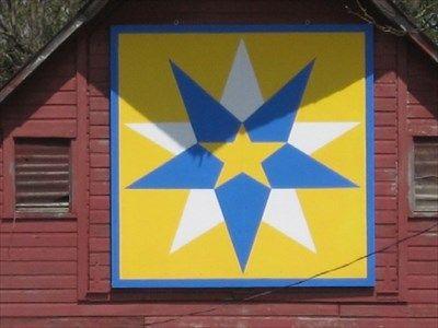 Triple Star – Albert City, IA - Painted Barn Quilts on Waymarking.com