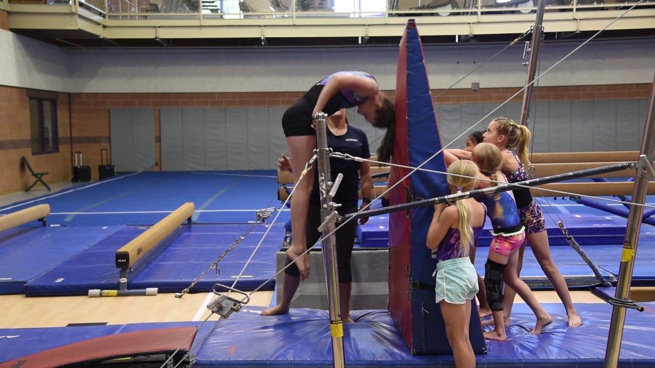 Pullover Gymnastics bar, Gymnastics, Gym bar