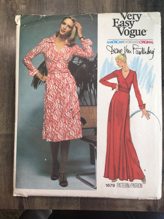 Size 16 1/2 Bust 39 Half Size; Vogue 1679; Very Easy Vogue; American ...