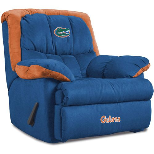 Florida Gator Recliner Chairs Florida Gators Home Team Recliner Monstermarketplace Com