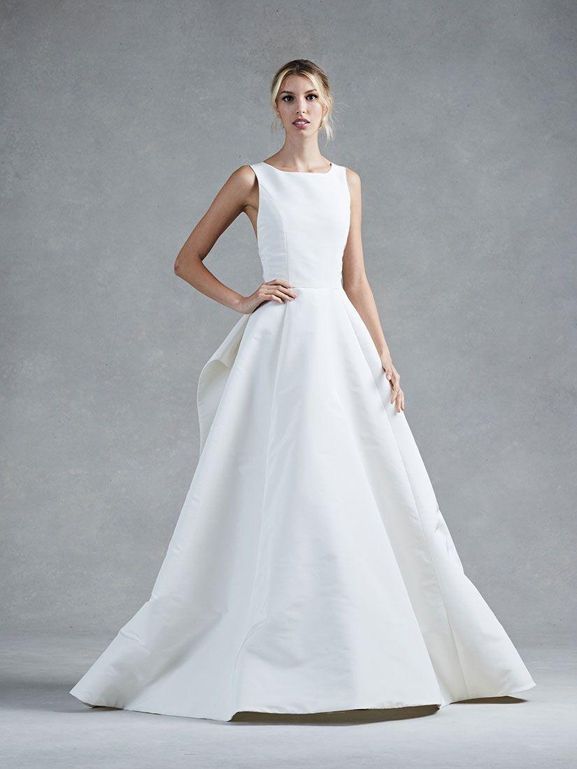 Oscar De La Renta lace, a-line wedding dress from Solutions Bridal ...