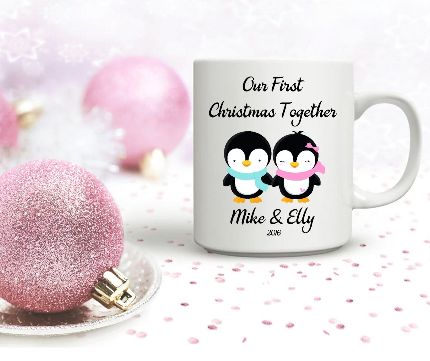 Personalised First Christmas Together Mug. Christmas Mug. Christmas ...