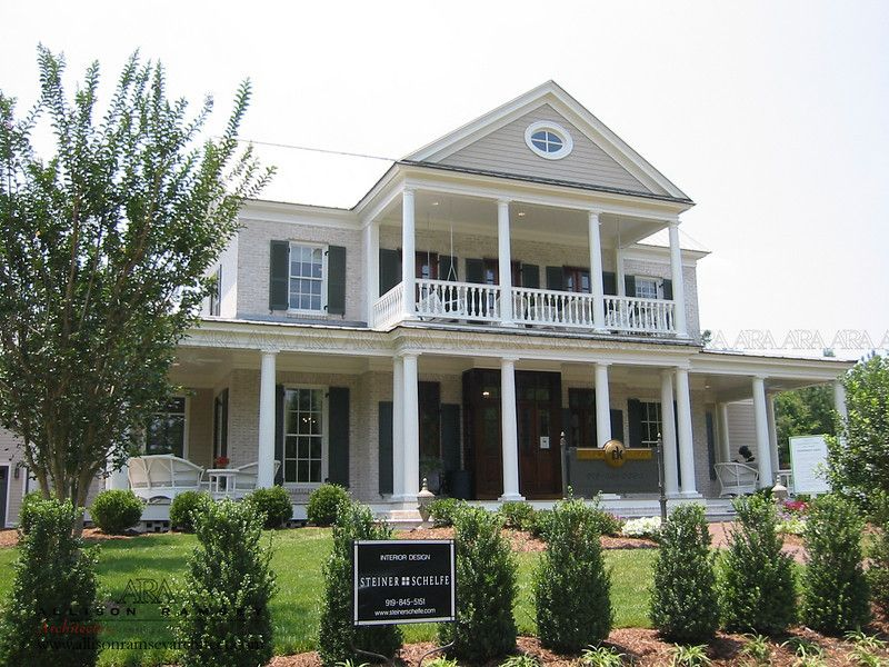 southern living magazine farm house the house square feet house plans