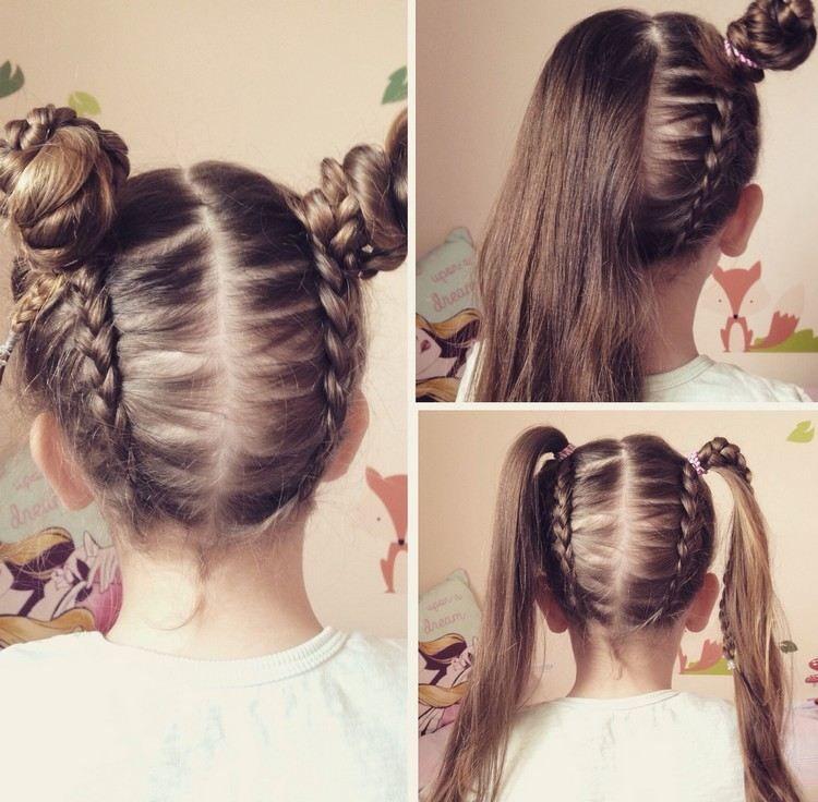 13+ Petite fille coiffure inspiration