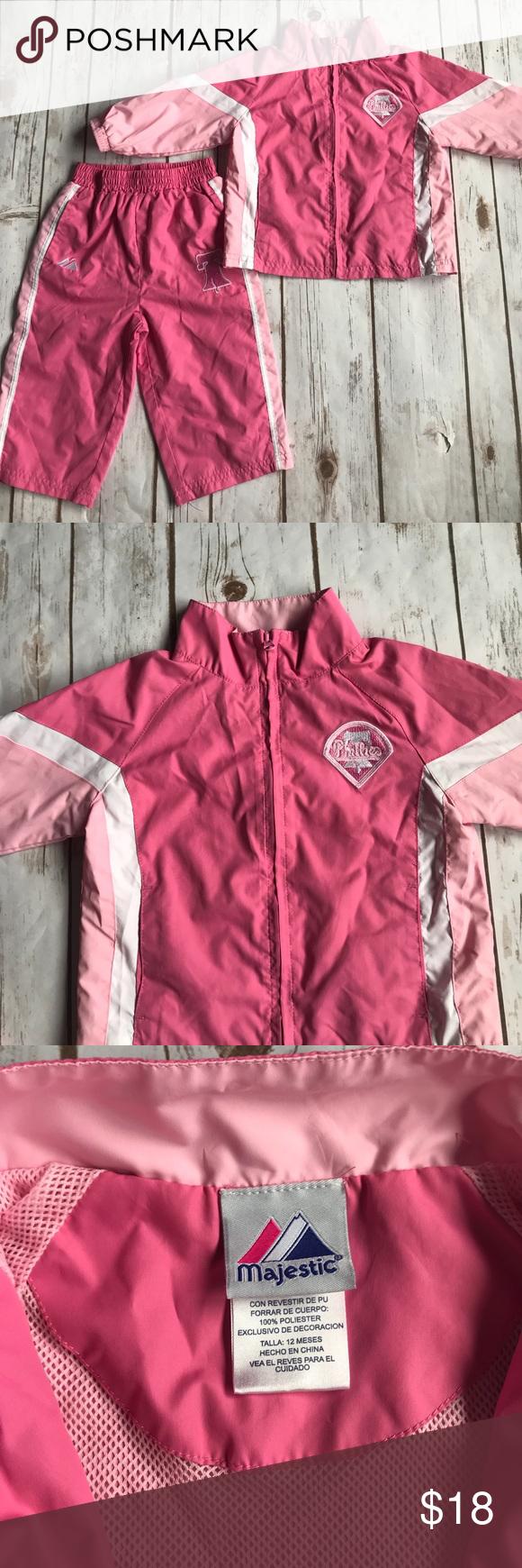 78f93b769086 Toddler Girl Philadelphia Phillies Track Suit