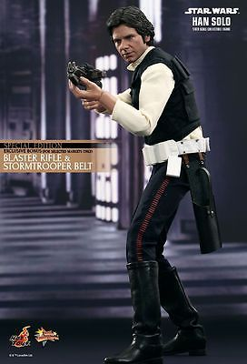 (new,in stock) Hot Toys Star Wars Han Solo  Exclusive special edition 1/6 figure