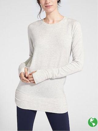 b5d1e0ffe0224 Studio Cinch Sweatshirt | Athleta | Tunic tops, Tops, Fashion