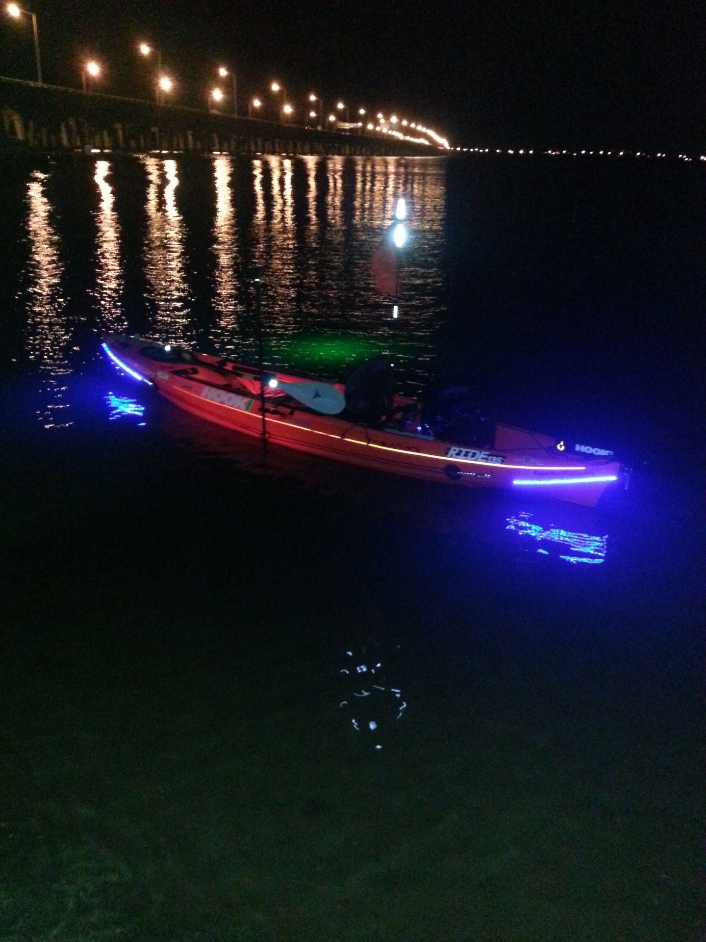 Kayak fishing lights supernova fishing lights www for Kayak lights for night fishing