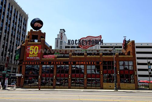 Image result for welcome to detroit hockeytown usa