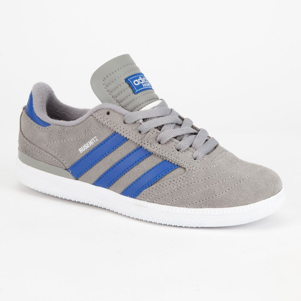 6b8870f733f46 Amazon.com: ADIDAS Busenitz J Boys Shoes, Grey, 4: Clothing ...