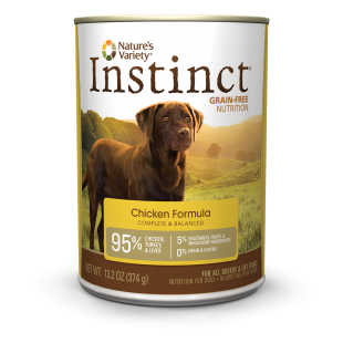 We Carry A Nice Selection Of The Nv Instinct Dog Food Cans In Two Sizes 5oz 13oz With Images Dog Food Recipes Canned Dog Food Wet Dog Food