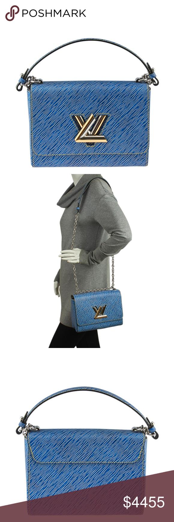 Louis Vuitton M51065 Blue Epi Twist MM 139848 | France colors ...