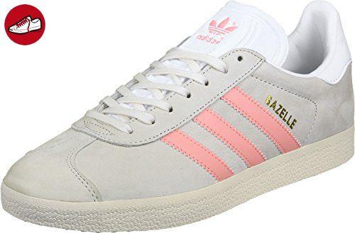 adidas Damen Gazelle Sneaker, Weiß (Chalk WhiteStill Breeze