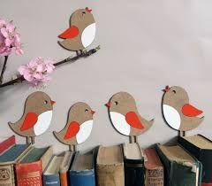 Bildergebnis für fensterbilder vögel mit mützen