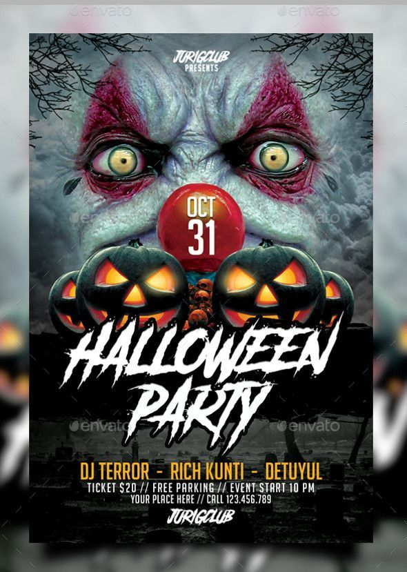 search 100 free halloween psd party flyer templates manipulation
