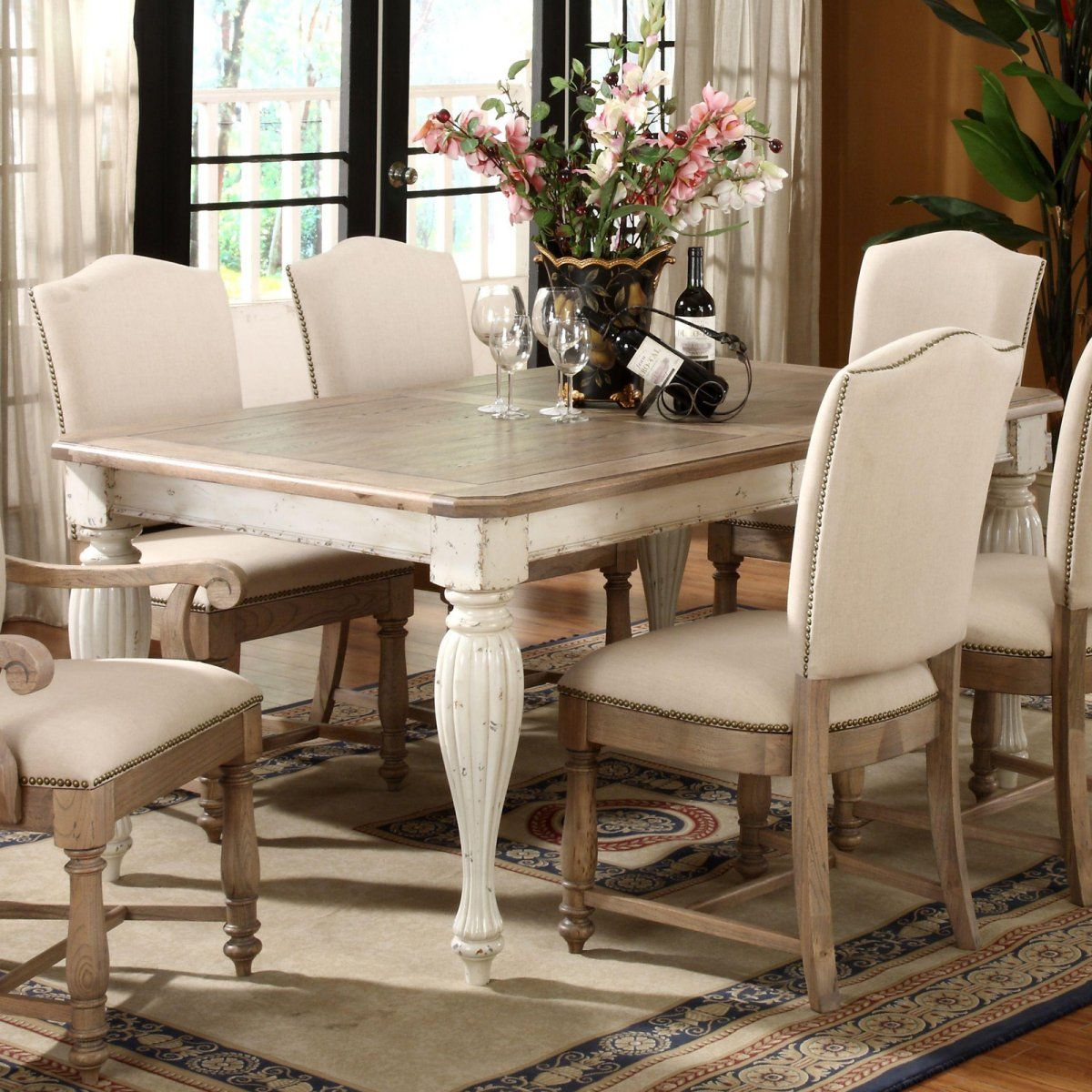 Riverside Coventry Rectangular Dining Table Dining Tables At