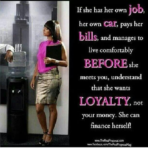 I'm A Strong Independent Black Woman!! Lol