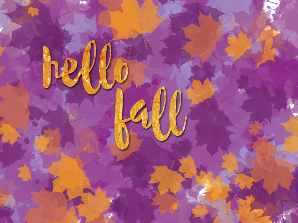 Free Fall Desktop Backgrounds Hermioneboo Fall Desktop Backgrounds Backgrounds Desktop Hello Autumn