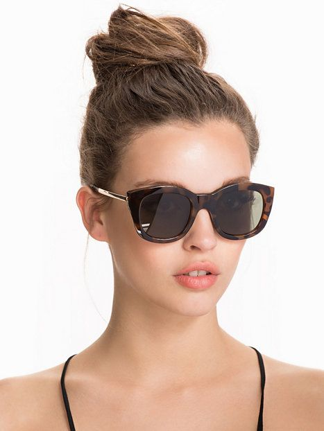 2c14972b66b Runaways Luxe - Le Specs - Tortoise - Sunglasses - Accessories - Women -  Nelly.com Uk