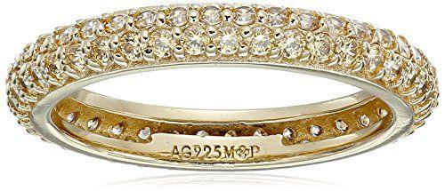 Myia Passiello Colors Swarovski Zirconia Fancy Yellow Slim Stackable Ring, Size 8 - http://www.getit4me.org/myia-passiello-colors-swarovski-zirconia-fancy-yellow-slim-stackable-ring-size-8/