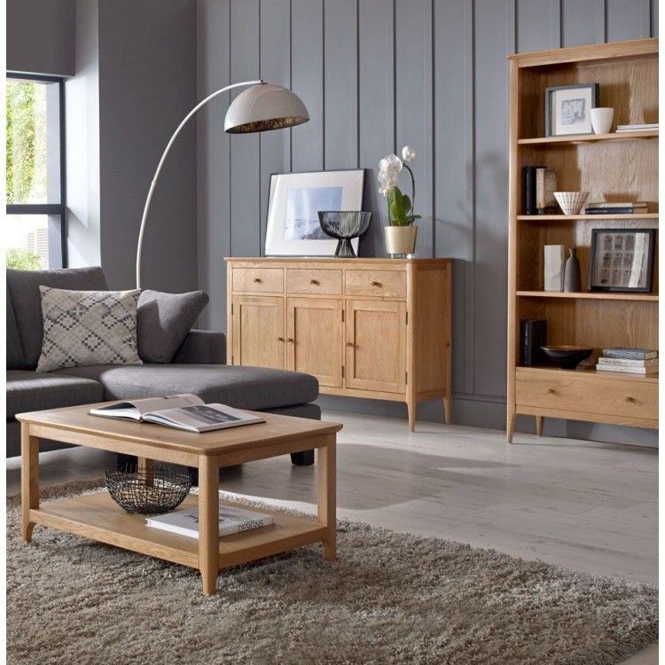 The Kronborg Oak Furniture Range Is A Modern Contemporary And