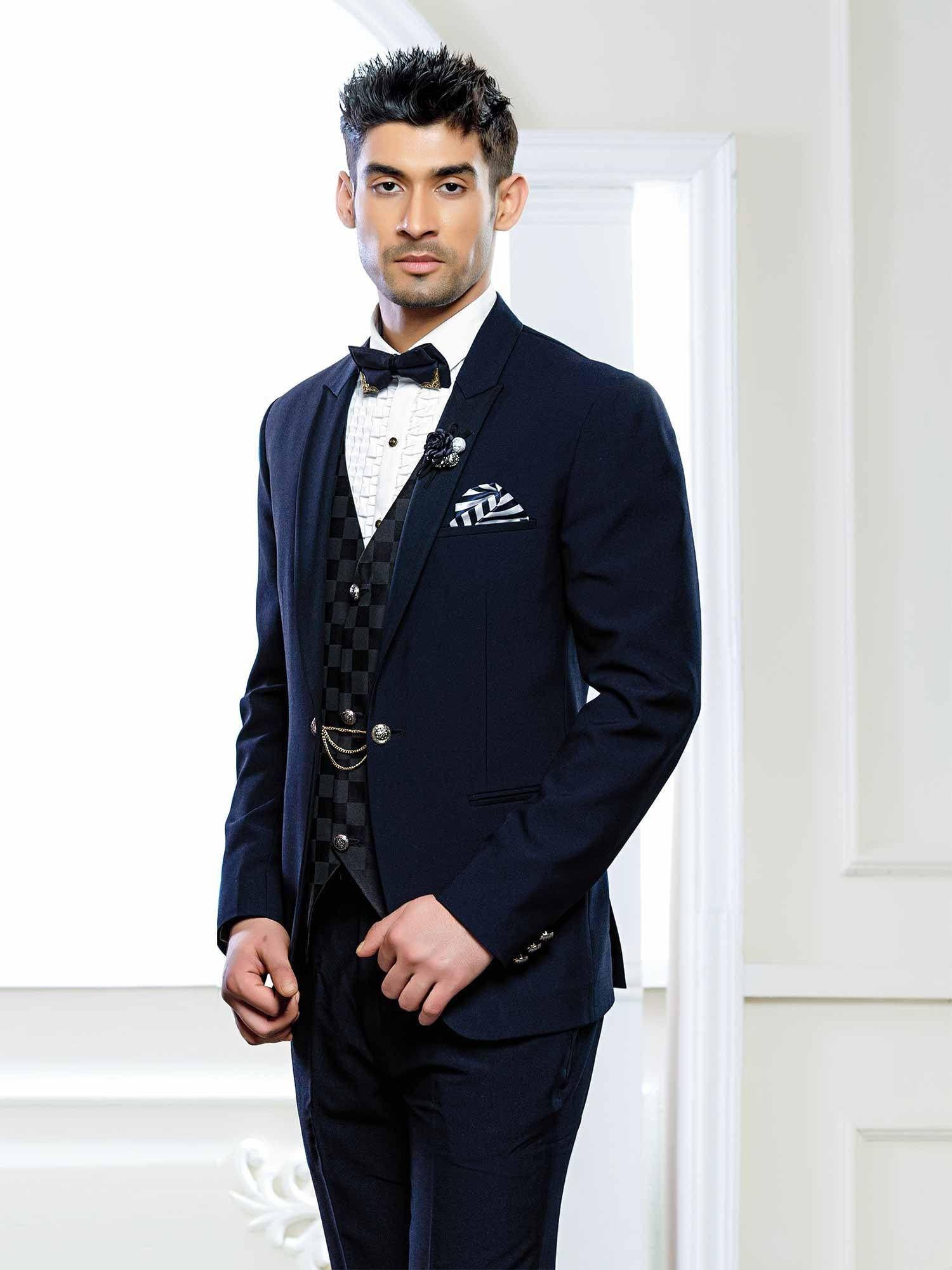 Italian Fabric Customized tuxedo/Designer mens suit with ...