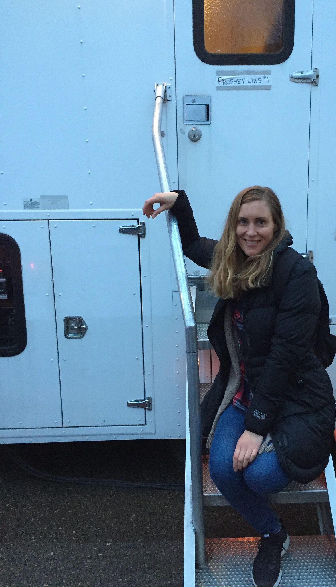 Dusk at my trailer #SacredLies #FacebookWatch #Blumhouse