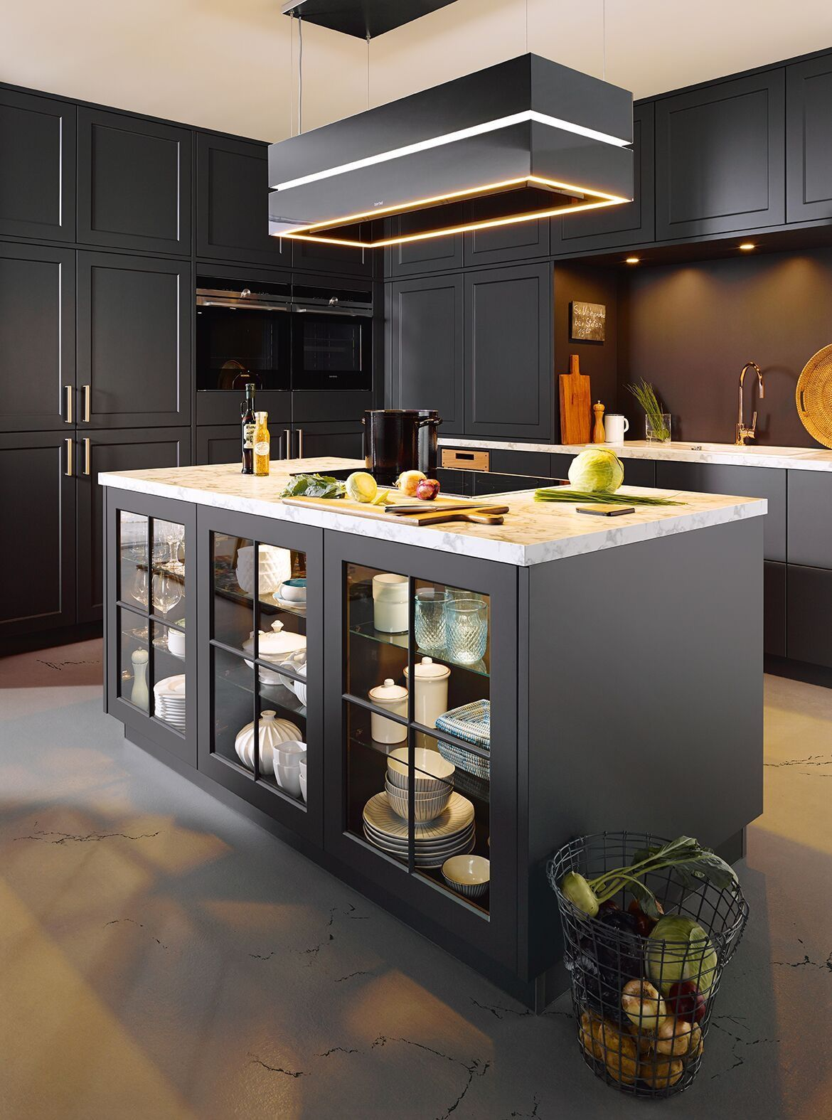 Amazing kitchen from Kitchens by Mode... Want one for my flat ...