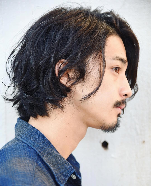 Trendy Medium Men S Haircuts Curlymediummenshairstyles Long Hair Styles Men Asian Men Long Hair Asian Hair