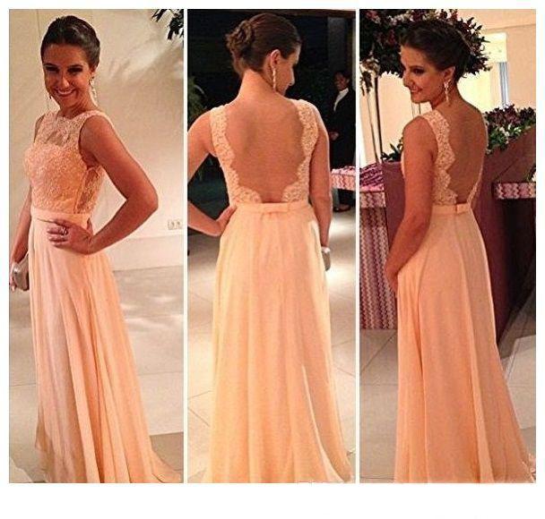 15+Billig Langes Kleid Mit Rückenausschnitt