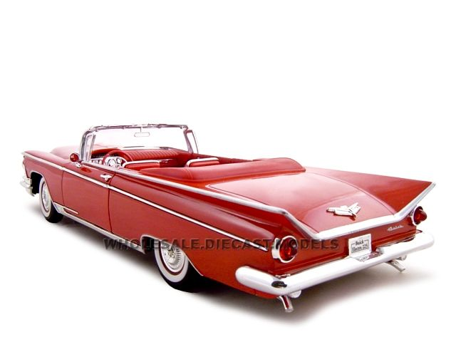 Buick Electra 225 Cabrio Rot 1959 1//18 Yatming Modell Auto mit oder ohne individ
