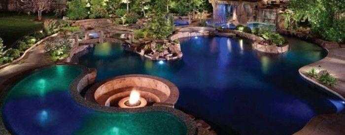 Luxus pool mit einem tollen luxus pool den garten for Luxus garten pool