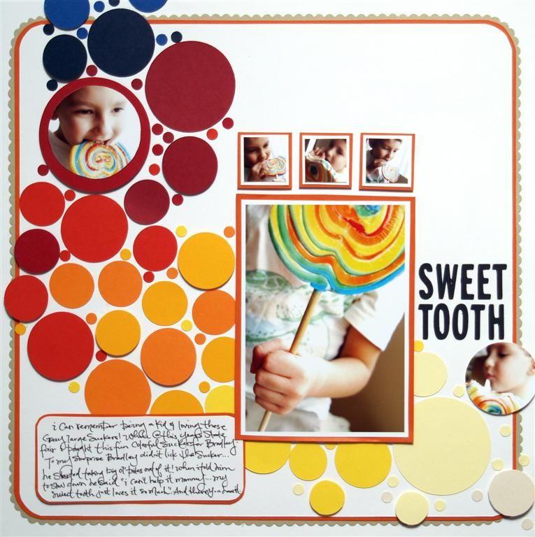 Sweet Tooth - Scrapbook.com