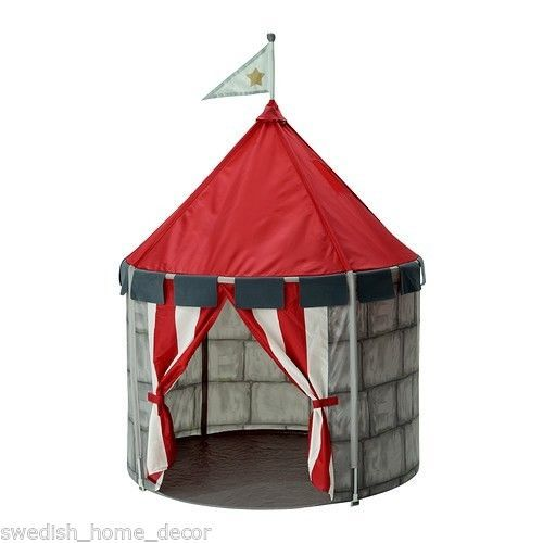 IKEA Kids Castle Tent Beboelig New Great for Play Room Pop Up | eBay  sc 1 st  Pinterest & Ikea Kids Castle Tent Pop Up Play Reading Area Indoor Outdoor Fort ...