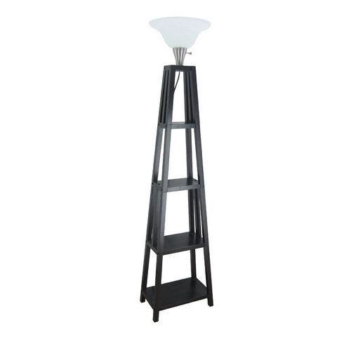 Floor Lamps At Lowes Adorable Allen Roth 60 Ladder Type Floor Lamp Lowes Thinking Maybe If I