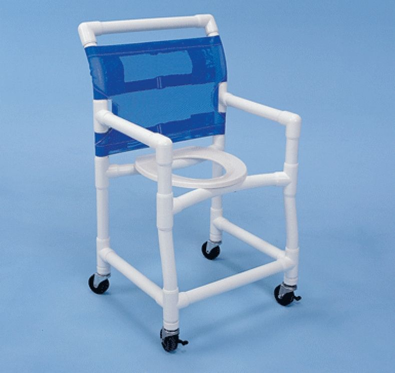 Pvc Shower Chair With Wheels   Olivia   Pinterest   Shower chair