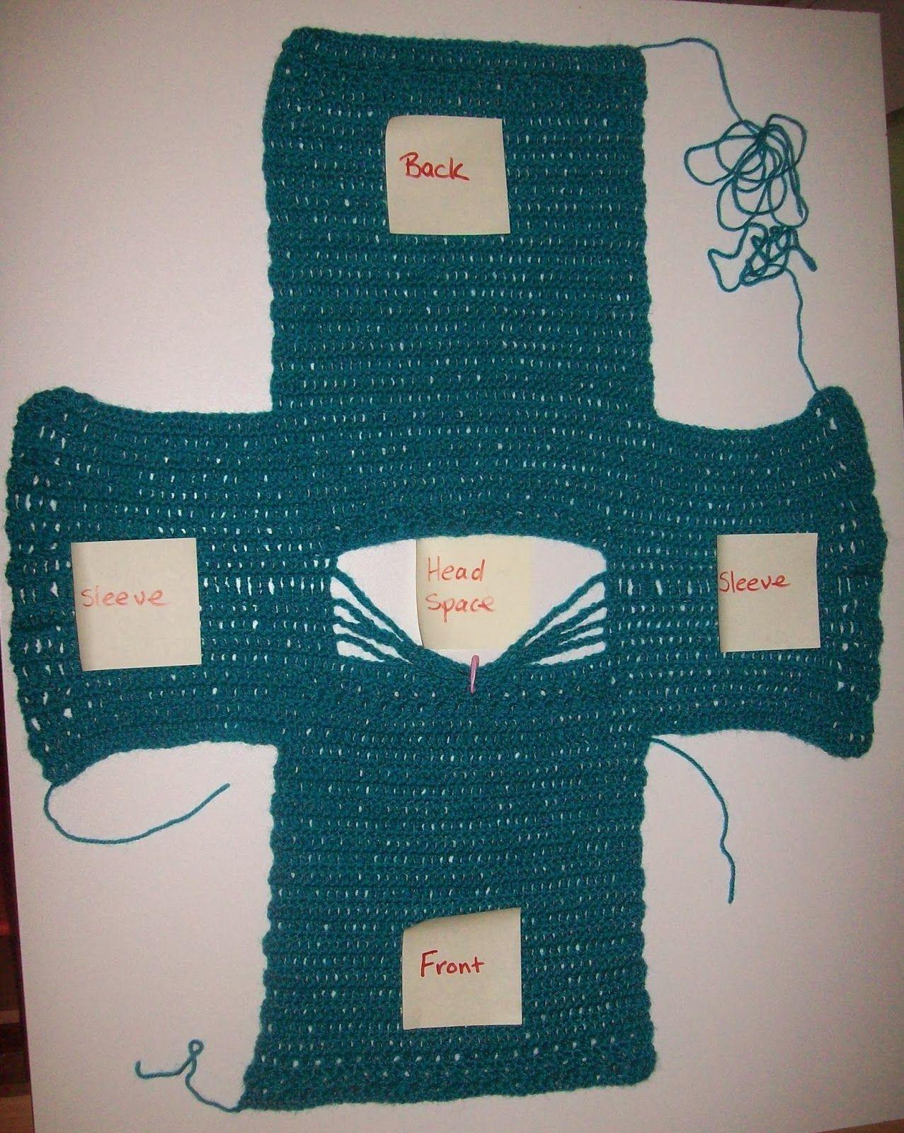 e7c82a41b Simple Crochet Sweater Size 2