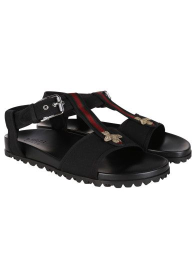 c1f6e7a1f0fac ... GUCCI Gucci Flat Sandals With Web And Bee Detail. gucci shoes gucci-flat-   Slide On Slippers. Wrangler Mens Slide Sandal . ...