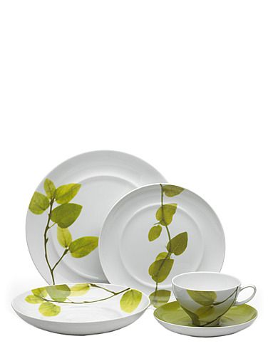 Mikasa Dinnerware Daylight Collection - Fine China - Macyu0027s Bridal and Wedding Registry  sc 1 st  Pinterest & The Bay - Mikasa Daylight 5 Piece Placesetting Set | Feathering my ...