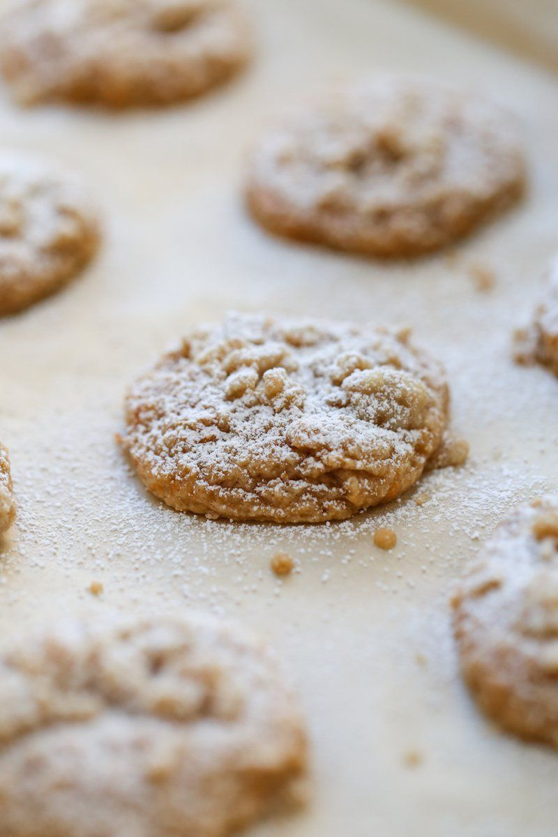 Sweet Potato Cookies with Homemade Streusel | Laur