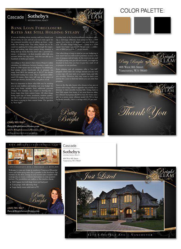 Design Spotlight Patty Bright Real Estate Branding Luxury Marketing Design