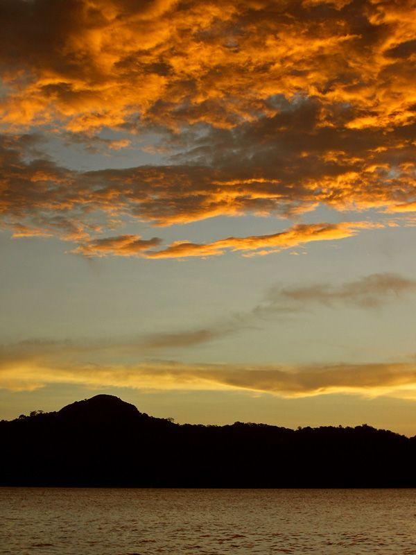 clouds & mountain; Guanacaste