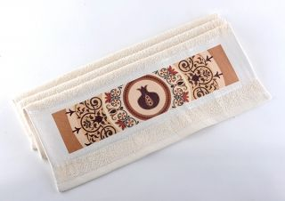 Pomegranate Hand Washing Towel by Dorit by aJudaica